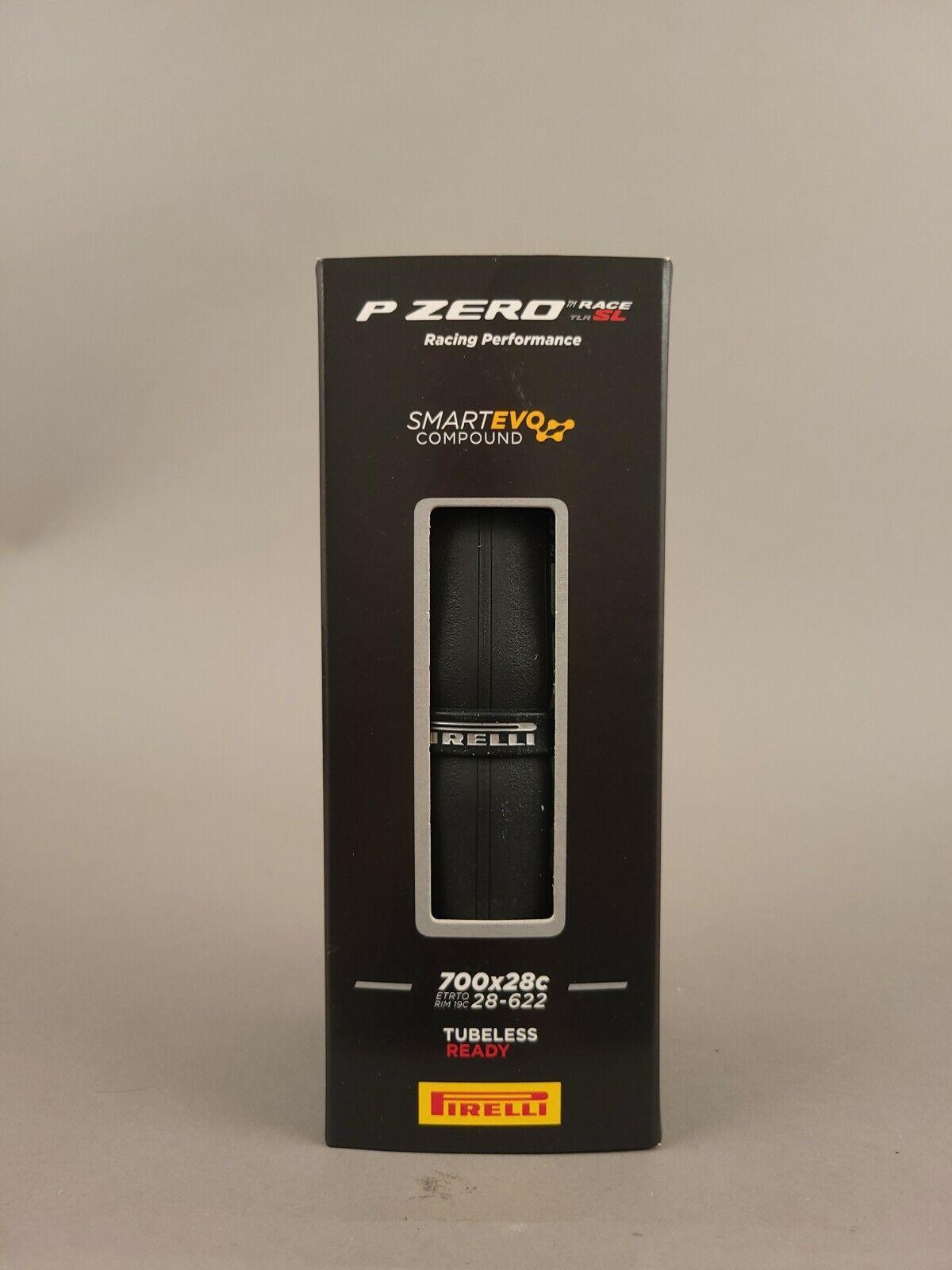 Image 1 - Pirelli P ZERO RACE TLR SL Road Bike Bicycle Tire - 700 x 28, Tubeless, Folding