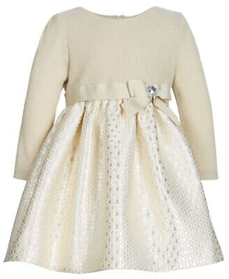 Holiday Dress Bannie Jean Girls Sleeveless Plaid Taffeta Burgundy Dress with Long Sleeved Cardigan