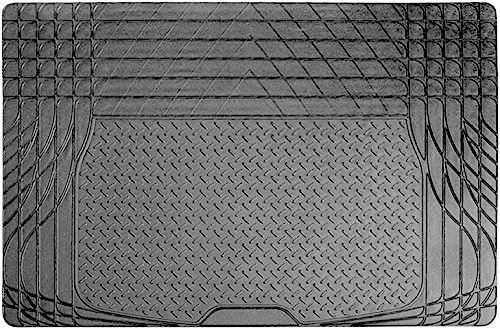 Heavy Duty Rubber Car Boot Liner Mat Universal Fit