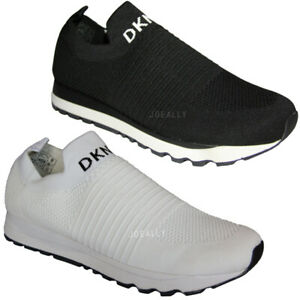 DKNY Womens Slip On Trainers Sneakers