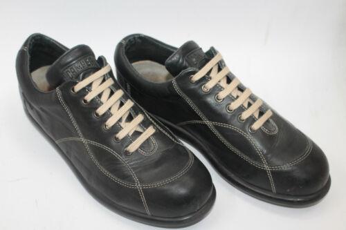 CAMPER men shoes sz 10 Europe 43 black leather S81