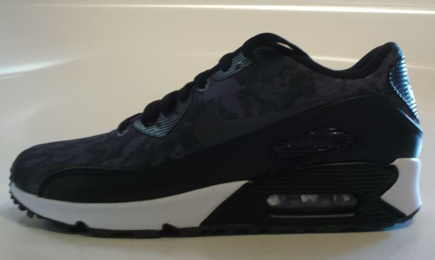 Nike Air Max 90 ID Gr.39 anthracite/schwarz/Weiß 708228 992 992 992 dfdaf5