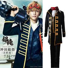 Kondou Isao Cosplay Costume Anime Dress Gintama Shinsengumi Team Okita Sougo