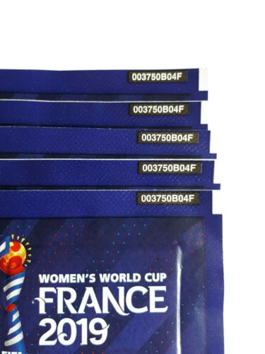 Panini Frauen women France 2019 tuten,bustina,sobre,pack rare Front//back code FR