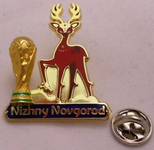 Pin/Badge Football FIFA Coupe du monde 2018 Russie Nizhny Novgorod #111