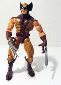 ToyBiz-2004-Marvel-Legends-X-Men-Wolverine-Brown-Suit-Action-Figure-Loose
