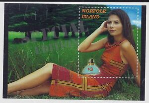 2001-NORFOLK-ISLAND-PERFUME-MINI-SHEET-MINT-MNH-MUH-WITH-SPECIAL-EDITION-OPT