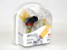 Nokya 2500K 55w Hyper Yellow H11 Halogen Fog Light Bulbs A