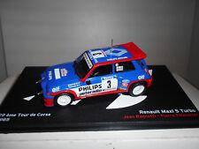 IXO MODELS 1//43 RENAULT 5 GT TURBO 1985 COCHE DE SERIE BLANCO WHITE  CLC303