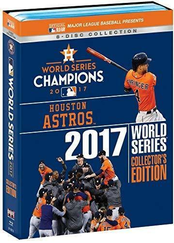 Houston Astros 2017 World Series Collector's Edition [Blu-ray] NEW!