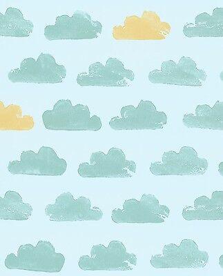 Wolken Himmel Vliestapete Eijffinger Tout Petit Kinderzimmer 4 süßen Farben