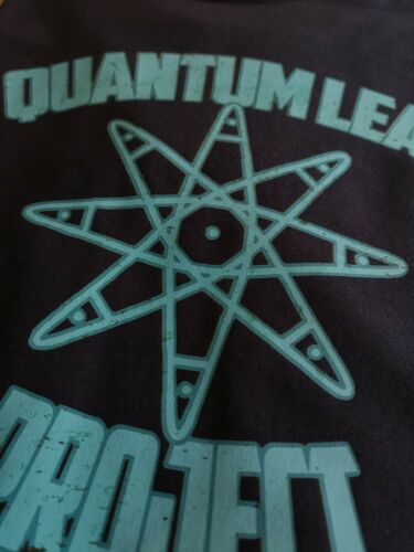 Quantum Leap Project Inspired T-shirt Retro 80s 90s Classic TV Show Tee Science