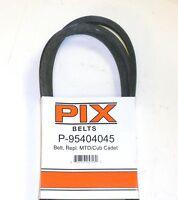 954-04045 Pix Belt Compatible With Mtd 954-04045 & Toro 112-5800