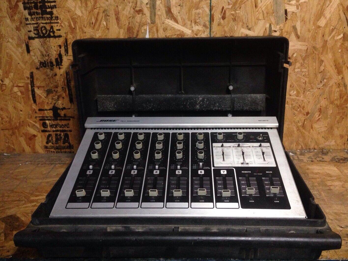 Vintage Bose PM-2 PowerMixer 400 Watt Mixer