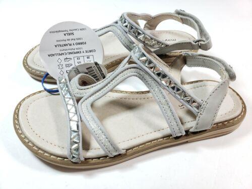 Mayoral Girls Kids Sandals Strap Faux Diamond Flip Flops 13 13.5 31 32