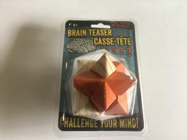 IQ Test Casse-t/ête IQ Jigsaw Puzzle Jouet /Éducatif pour Adultes et Enfants Macium 24 Pi/èces 3D Puzzle Casse-t/ête en Bois et Casse-t/ête m/étallique Wire Set
