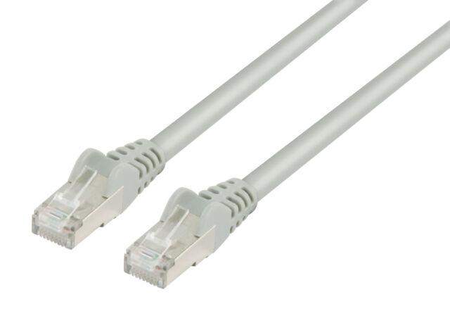 CORDON CABLE RESEAU ETHERNET NETWORK RJ45 FTP CAT5E DROIT BLINDE 30M 30 METRES