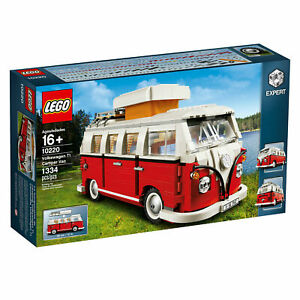 LEGO-Creator-10220-Volkswagon-T1-Camper-Van-Combi-Van-Brand-New-in-Box