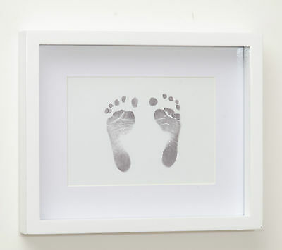 Inkless wipe hand and foot print kit baby keepsake