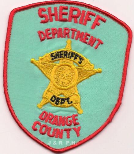 "shoulder police patch Texas 4/"" x 4.75/"" size fire Orange County Sheriff"