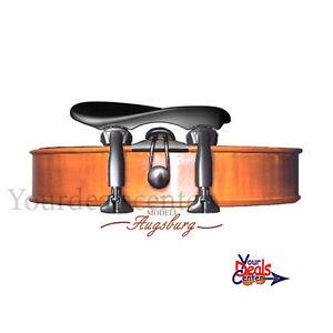 Wittner Augsburg 1/2-1/4 Violin Chinrest Center Mount ---Adjustable Style