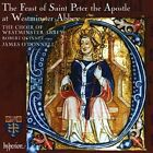 The Feast of St. Peter the Apostle at Westminster Abbey (CD, Aug-2010, Hyperion)