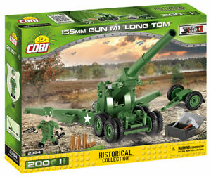 COBI-Long-Tom-155MM-M1-Artillery-Gun-SET-2394-200-Pcs-US-SELLER-WWII