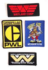 "ALIENS Movie Weyland Yutani  Embroidered Patch Set of 4-  3-4"" (ALPA-SET-4N)"