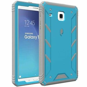 POETIC Revolution Blue【Dust Resistant】Case For Samsung Galaxy Tab E 8.0