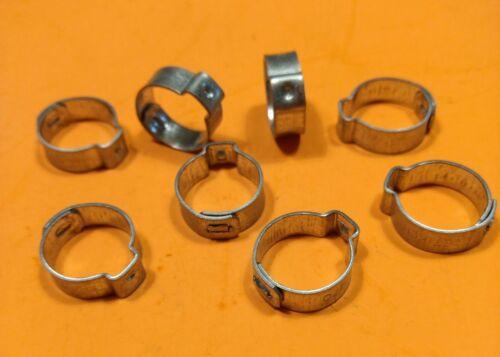"for Mopar OEM Crimp-Type Fuel Line Hose CLAMPS Oetiker Keystone 440-6 HEMI 3//8/"""