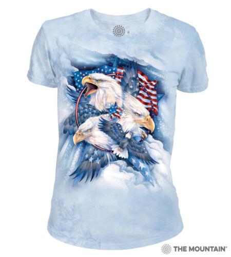 The Mountain 100/% Cotton Women/'s T-Shirt Allegiance NWT