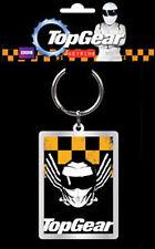 *NEW* Top Gear Stig Helmet - Metal Key Keychain Keyring - Black & Yellow