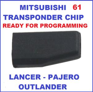 ID61-MITSUBISHI-TRANSPONDER-CHIP-IMMOBILISER-LANCER-OUTLANDER-PAJERO-REMOTE-KEY