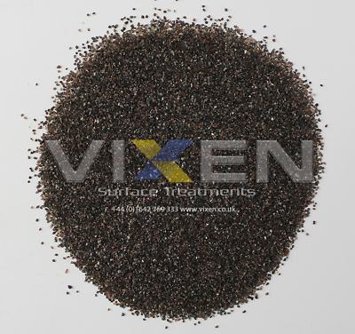 Vixen VB30//40 óxido de aluminio 25kg de medios chorro, tiro, arena, arenilla, Abrasivo