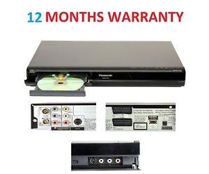 Panasonic Region Free DMR-EX769 DVD HDD Recorder 160GB Freeview PVR +HDMI Cable