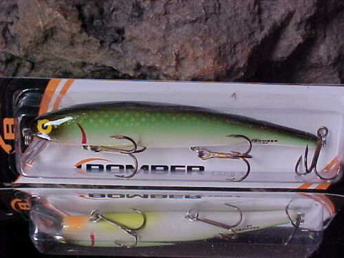 """Bomber B15A Long A Shallow 4 1//2/"""" B15A430 in Color JADE MINNOW for Bass//Walleye"""