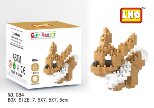 22pcs Nano Mini Pokemon Building Blocks Diamond Block 3D Toy Kids DIY Gift