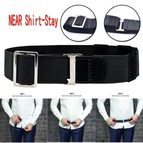 Adjustable Near Shirt-Stay Best Shirt Stays Black Tuck It Belt Shirt Tucked