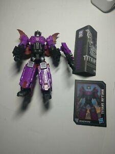 Transformers Generations Titans Return MINDWIPE figure -