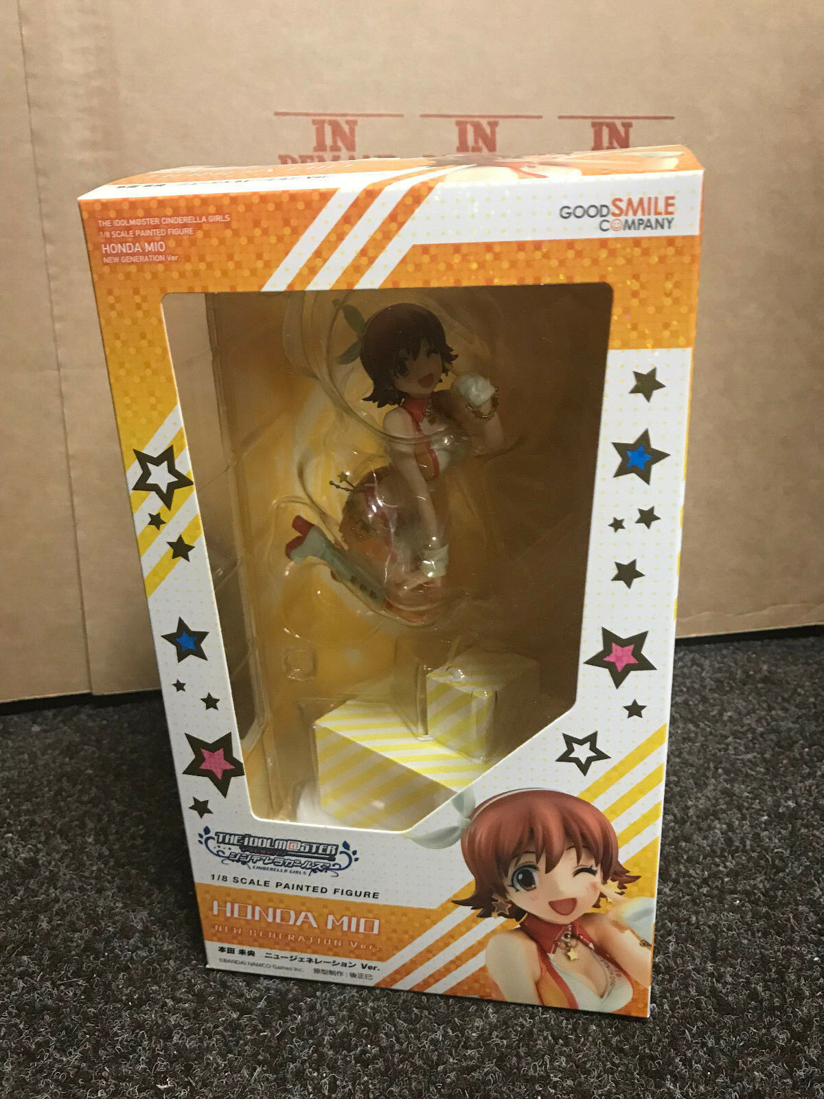 The Idol master Mio Honda New Generation Ver. 1 8 scale PVC Figure UK In Hand