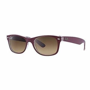 ecf45ceef8 Ray-Ban Wayfarer Color Mix Brown Gradient Sunglasses Rb2132 605485 ...