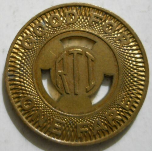 transit tokens Lot of 10 Rapid Transit Inc Saugus, Massachusetts MA695A