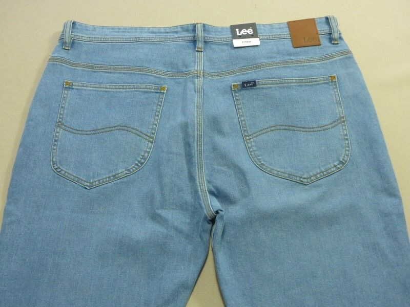 088 MENS EX-COND LEE Z1 KNOX VISTA blueE STRETCH JEANS SZE 38  RRP.
