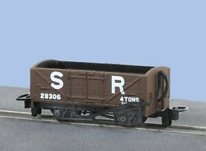 Peco-GR-201D-OO-9-Gauge-SR-Open-Wagon-No-28306