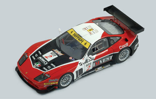 Ferrari F575 'Team GPC'  2 Deletraz  FIA GT Zhuhai  2005  rossoline 1:24/ 24RL003