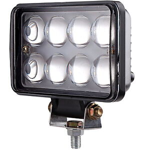 2pcs led truck spotlights 12 volt 24v car lamp super bright fog lamp image is loading 2pcs led truck spotlights 12 volt 24v car publicscrutiny Choice Image