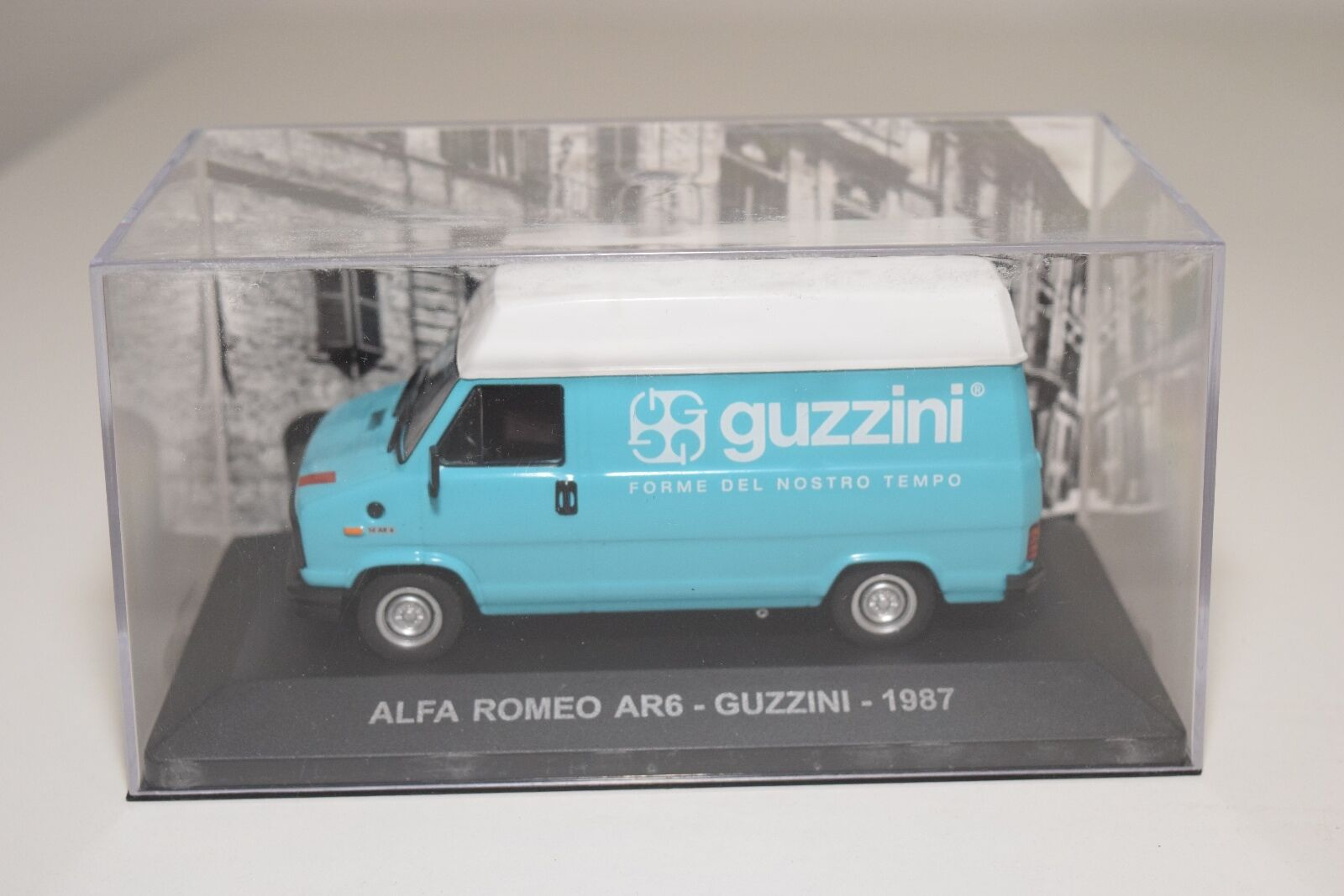 . ALTAYA IXO ALFA ROMEO AR6 GUZZINI 1987 MINT BOXED