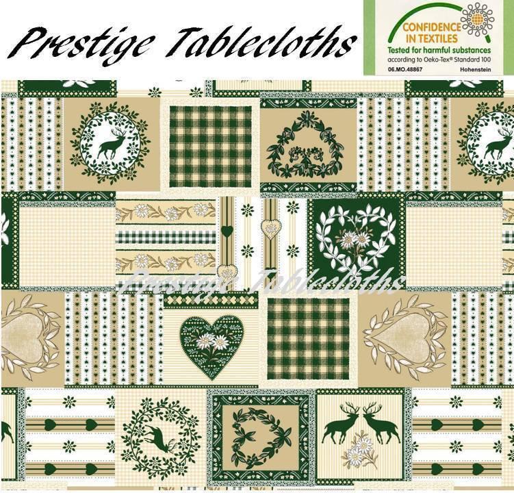 Christmas PVC Vinyl Wipe Clean Tablecloth - ALL GrößeS - Code  C56-2