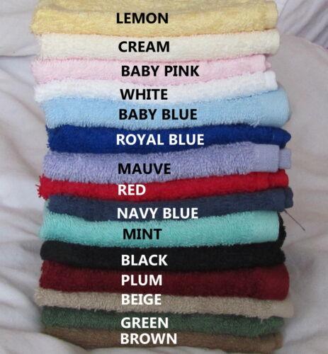 Royal égyptien 1 oo/% coton débarbouillettes choisissez votre couleur