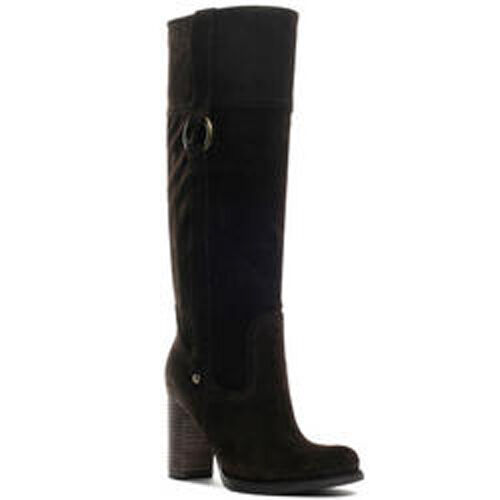 Guess Black Suede JASANA Ladies Tall Boot NEW 10M